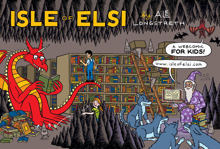 Isle of Elsi: A free webcomic for KIDS! by Alec Longstreth