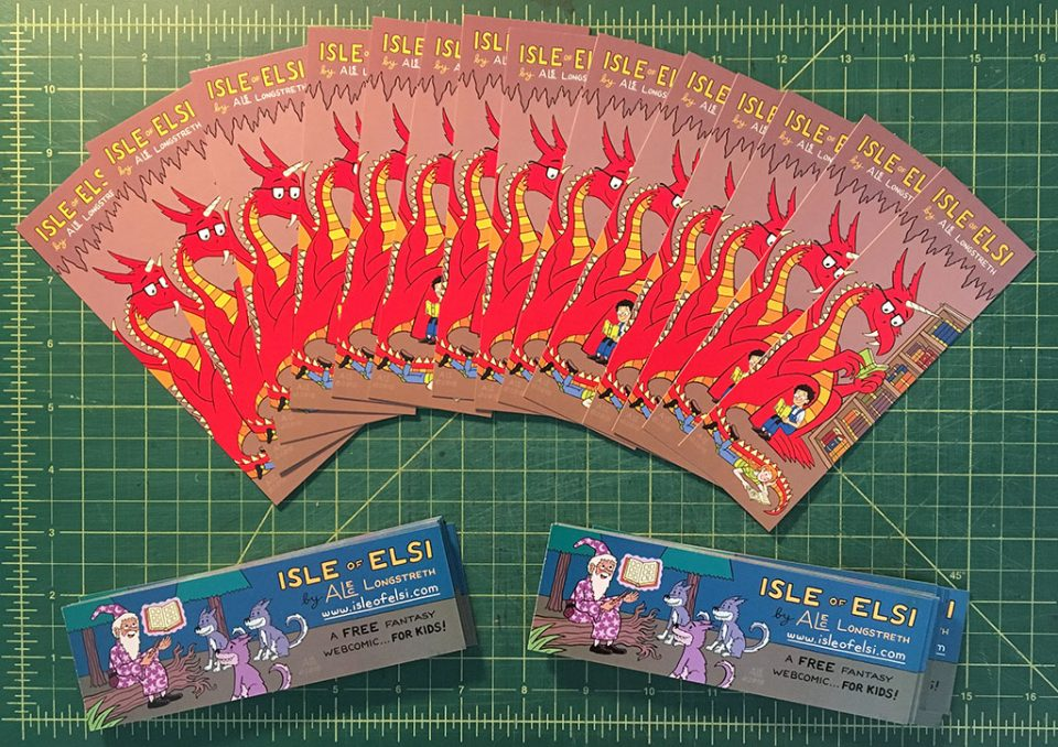 Isle of Elsi Bookmarks