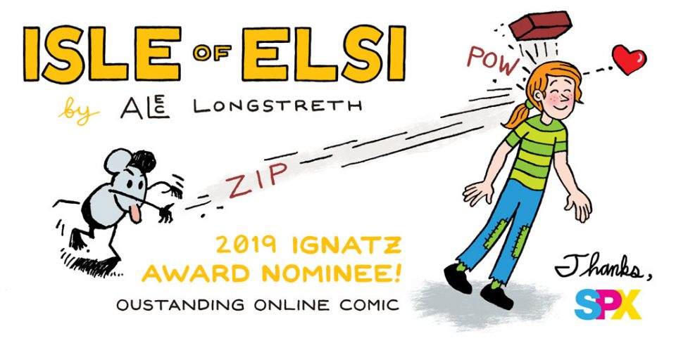 2019 Ignatz Award Nominee for Oustanding Online Comic