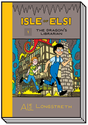 Isle of Elsi: The Dragon's Librarian (Book 1)