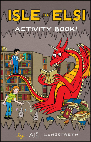 Isle of Elsi Activity Book!
